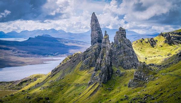 Isle of Skye Scotland during spring